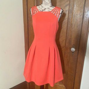 Vince Camuto Strappy Coral Dress NWT